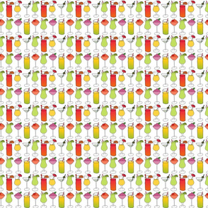 Mixed Drinks - small pattern