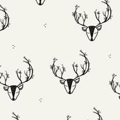 Spring Deer-Marshmellow