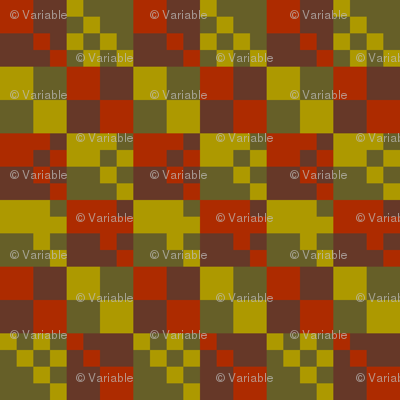 muted colors checkerboard