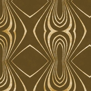 sienna and gold
