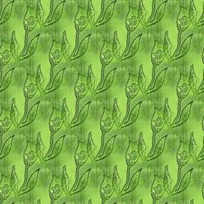 Green Tulips - Small