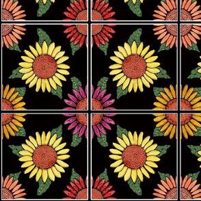sunflower tiles 8x8