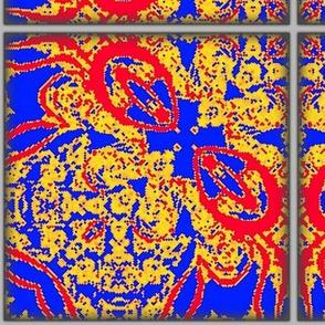 Fractal Masquerading as Spanish Tile