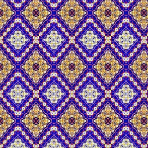 Royal Batik Diamond Pattern