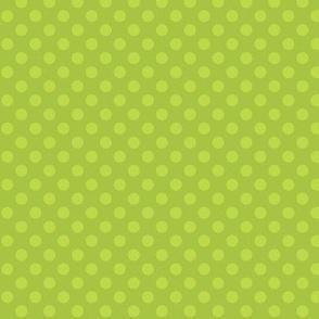 Snowman Cuties Green Dot