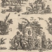 Marseilles-toile-black-on-pale-parchment-peaocquette-designs-copyright-2018_shop_thumb