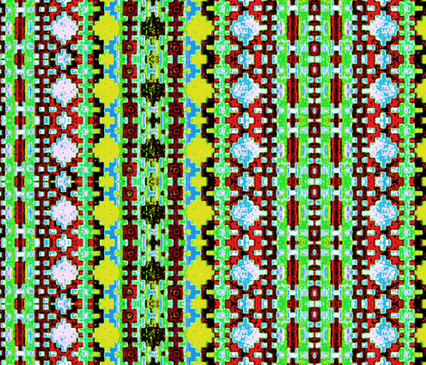 Navajo colors 109 fabric by hypersphere on Spoonflower - custom fabric
