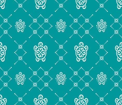 turtle tatt fabric by helenarae on Spoonflower - custom fabric