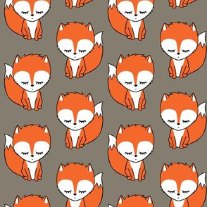 little fox - brown