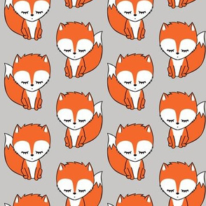 little fox - grey