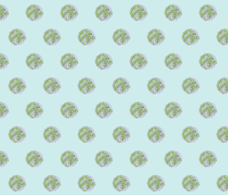 Herbs  dot fabric by unclemamma on Spoonflower - custom fabric