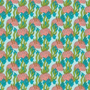 Ocean Floor - Coral and Seaweed