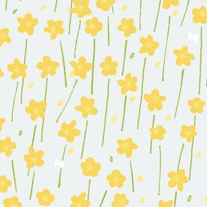 Buttercup Field M+M Slate by Friztin