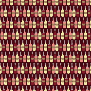 Wine Bottle Pattern
