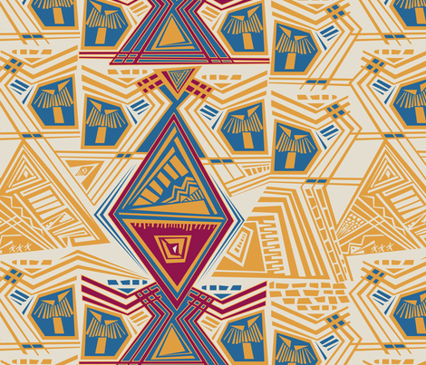 CultureAfrica fabric by edrouga on Spoonflower - custom fabric