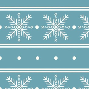 Snowflake pattern. Christmas ornament 2