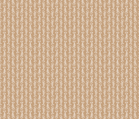 fishbone pattern on tan fabric northern whimsy spoonflower
