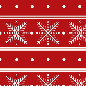 Snowflake pattern; Christmas ornament