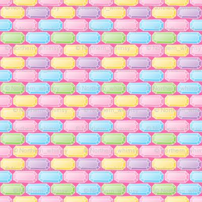 Pastel Gem / Bling Pattern