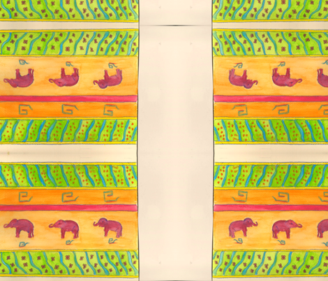 Scan Africa 2-ed fabric by art_by_d on Spoonflower - custom fabric