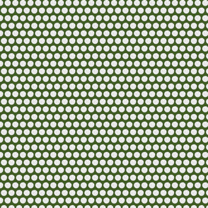 Golf Balls on Dark Green