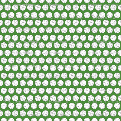 Golf Balls on Green