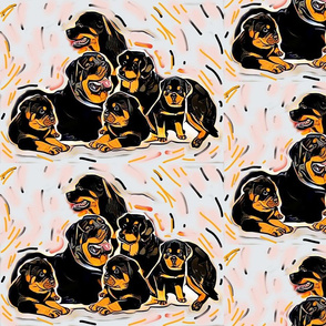 poster rottweilers