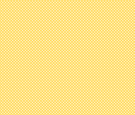 Yellow Polka Dot Pattern fabric by northern_whimsy on Spoonflower - custom fabric