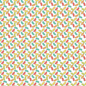 Rainbow Jellybean Pattern