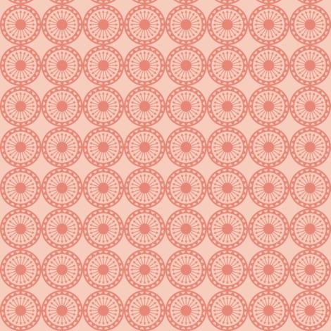 Desert Arrow Circle Geometric fabric by heatherhightdesign on Spoonflower - custom fabric