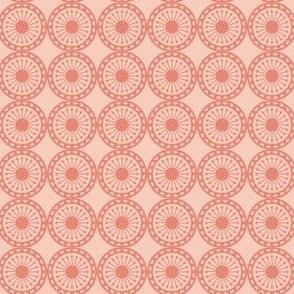 Desert Arrow Circle Geometric