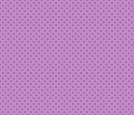 Purple Polka Dot Pattern fabric by northern_whimsy on Spoonflower - custom fabric