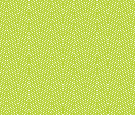 Green and White Chevron fabric by northern_whimsy on Spoonflower - custom fabric