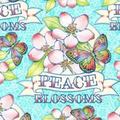 Peace Blossoms Tattoo
