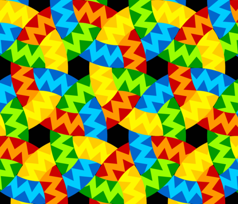 07096206 : zigzag rings fabric by sef on Spoonflower - custom fabric
