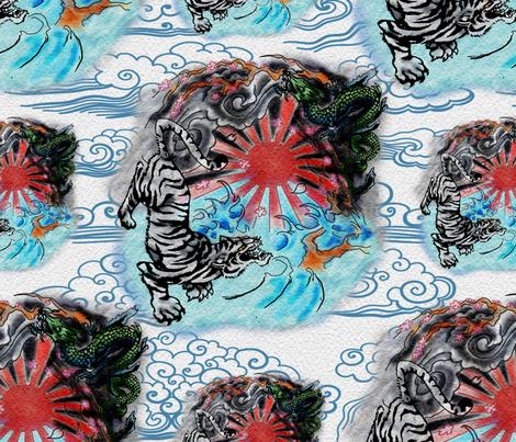 Seasons of Fury fabric by whimsicalvigilante on Spoonflower - custom fabric