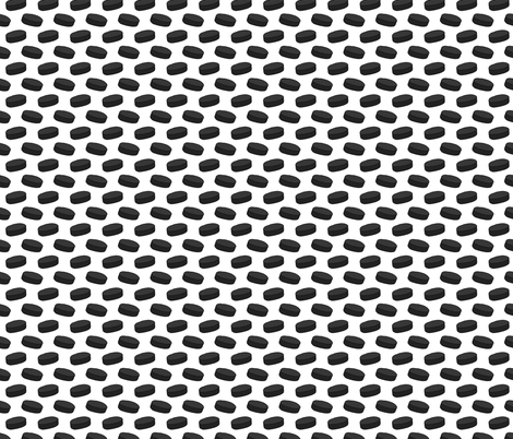 Hockey Puck Pattern fabric by northern_whimsy on Spoonflower - custom fabric