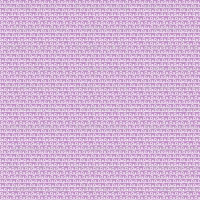 Purple Squiggle Pattern