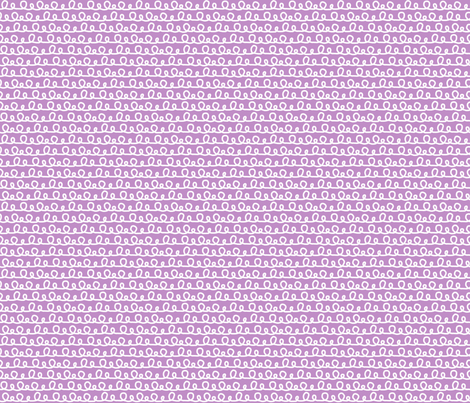 Purple Squiggle Pattern fabric by northern_whimsy on Spoonflower - custom fabric