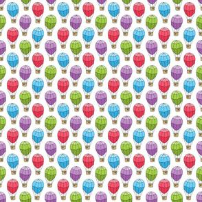 Small Hot Air Balloon Pattern