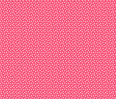 Pink Tossed Triangles fabric by northern_whimsy on Spoonflower - custom fabric