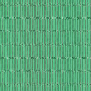 Knitting Needles on Turquoise