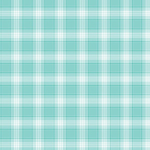 Ice Blue Plaid