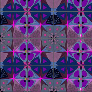 Spanish Tiles Starburst by Salzanos