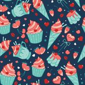 Valentine sweets (blue)