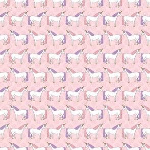 Pink and Purple Unicorn Pattern