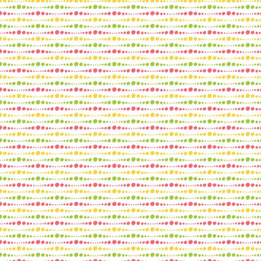 Pink, Yellow, and Green Dots