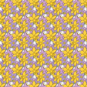 Easter Floral Pattern