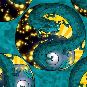 Green Dragon Tatoo