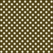 Dolly Dots Brown Large Colour